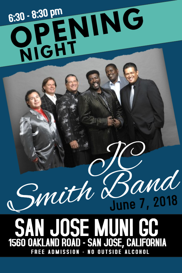 JC Smith Band Poster