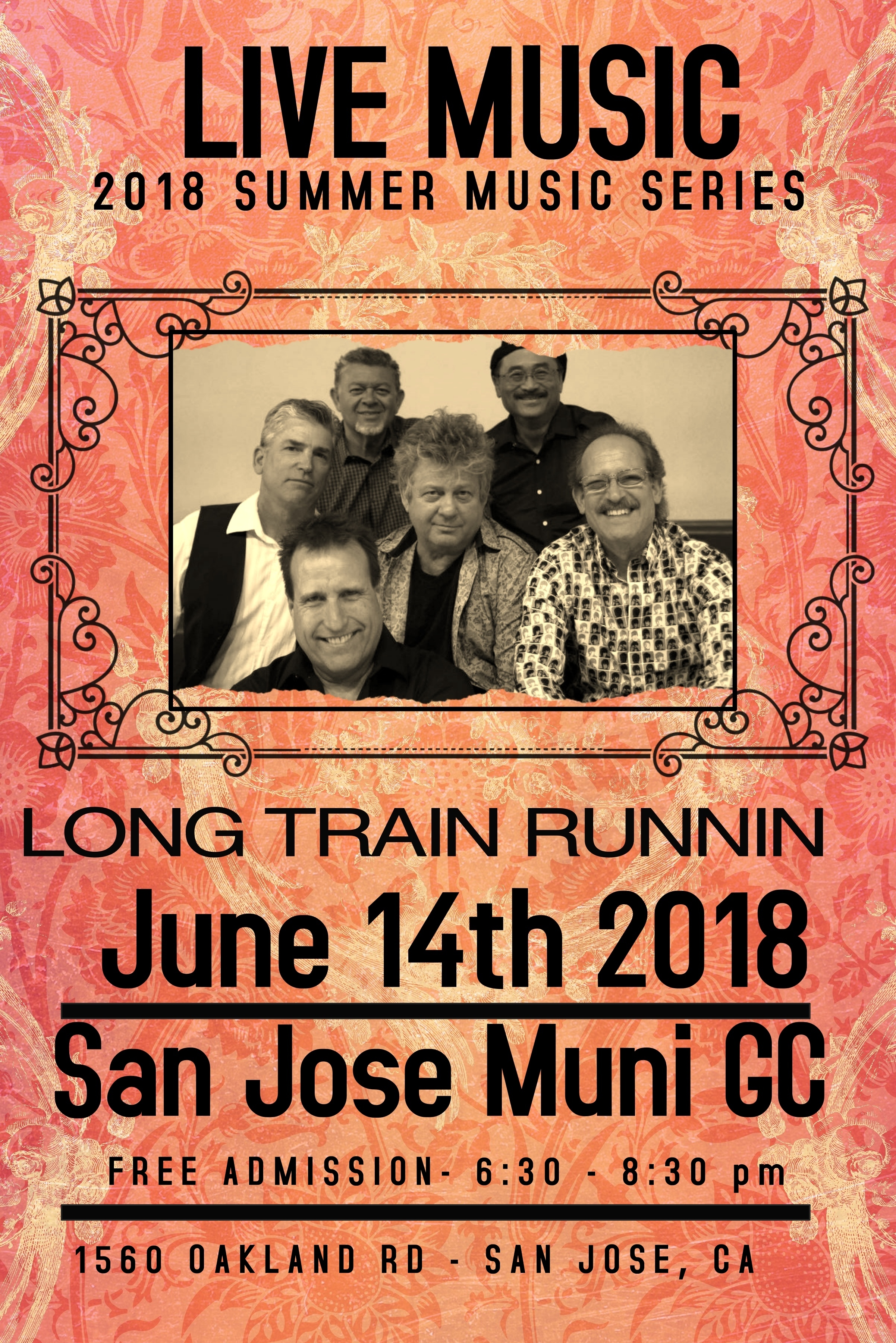 Long Train Runnin 18 Poster2